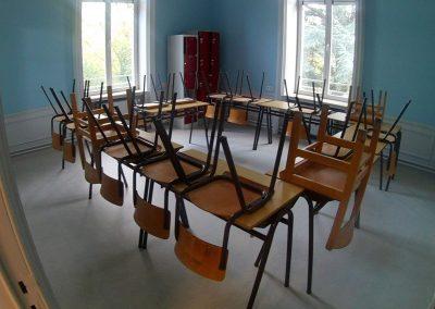 Salle d'étude secondaire