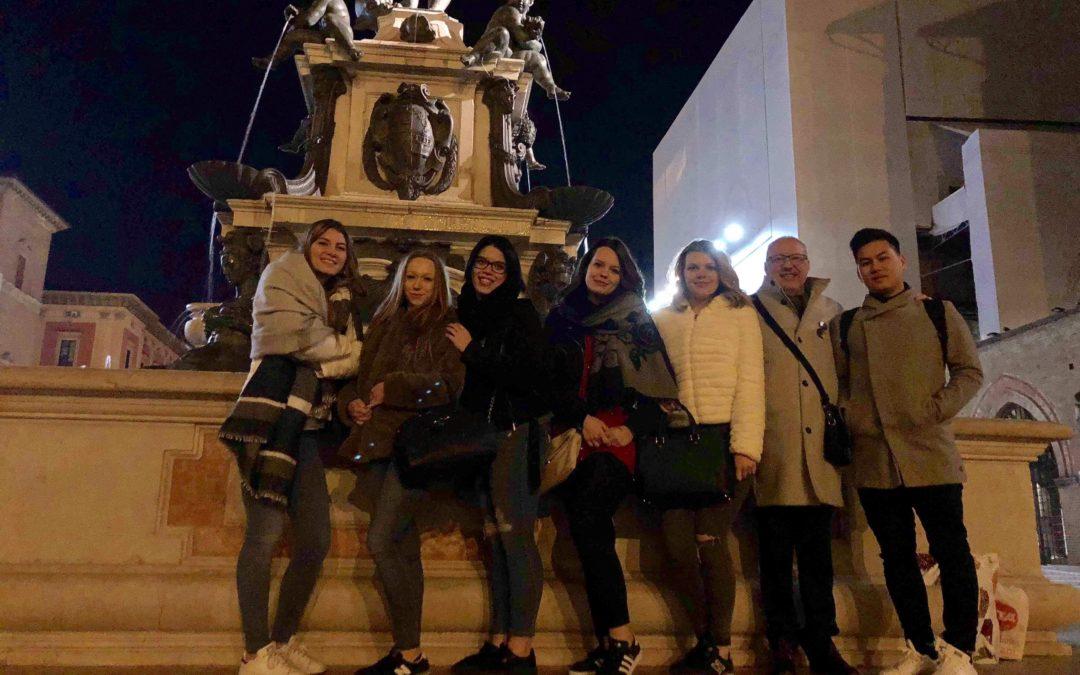 Stage à Bologne dans le cadre du programme « Erasmus+